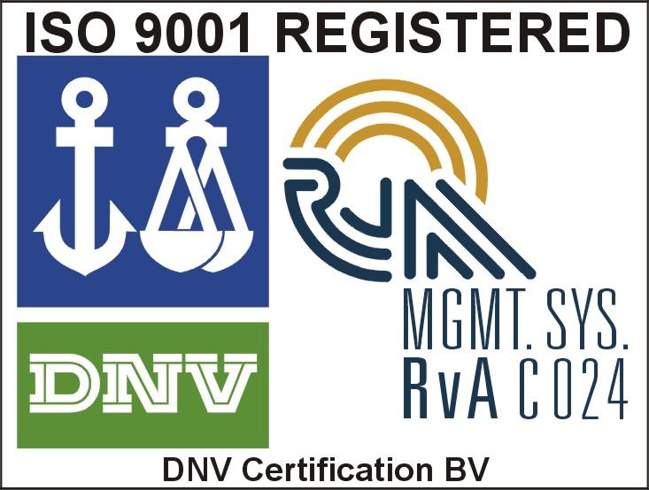 ISO 9001 DNV-RvA UK colour